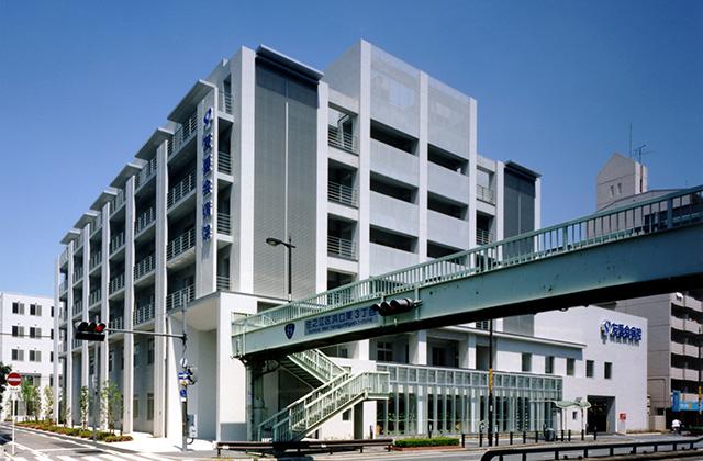 医療法人讃和会 友愛会病院  建築主 医療法人 讃和会 所在地 大阪市住之江区 構造 RC・S造