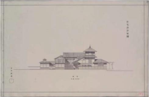 University of Tokyo graduation design house drawing