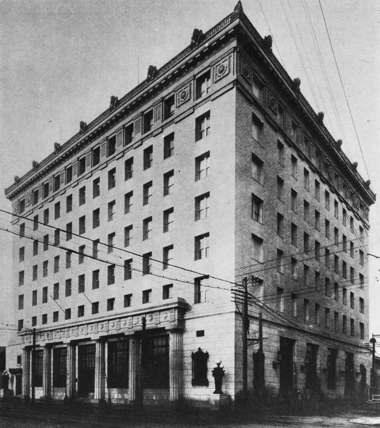 Osaka Nomura Bank Head Office (1924)