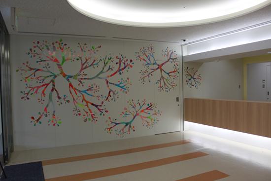 精神医療センターのアートIMG_1762