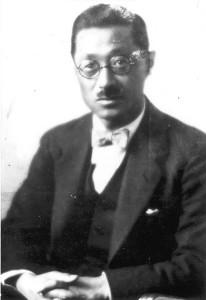 当社から番組へ安井武雄の肖像写真を提供