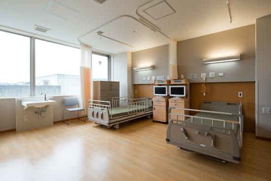 療養病棟4床室
