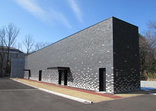 2014年3月に竣工した映画保存棟Ⅲの外観