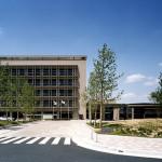 精華町庁舎・図書館