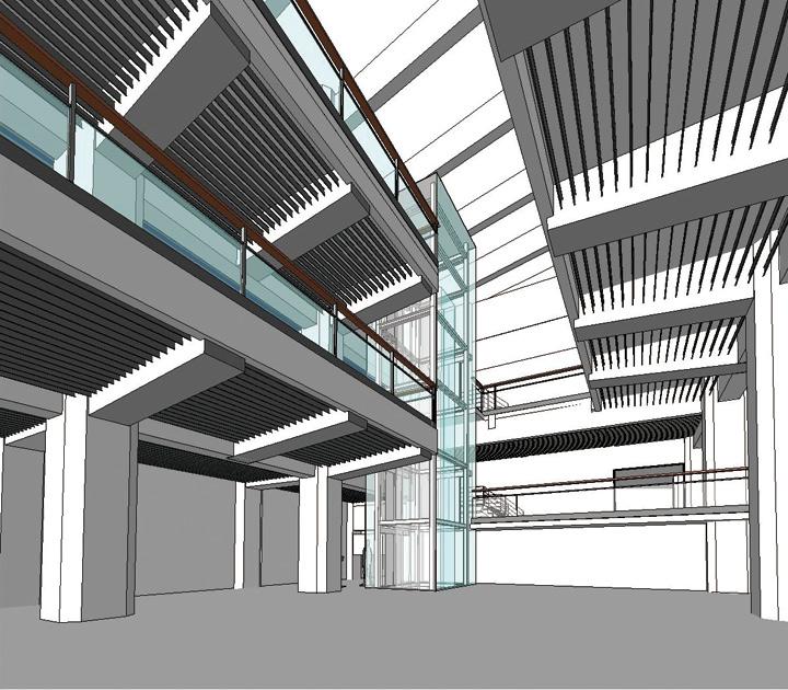 東京国立博物館東洋館改修設計におけるBIMによる可視化