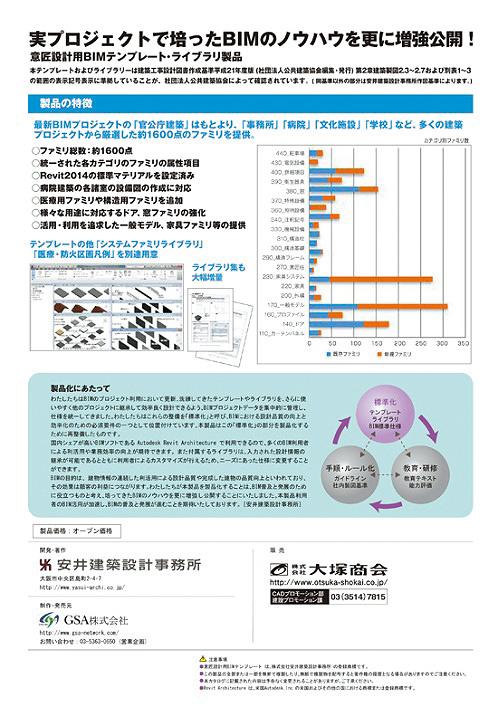 Design BIM templateト