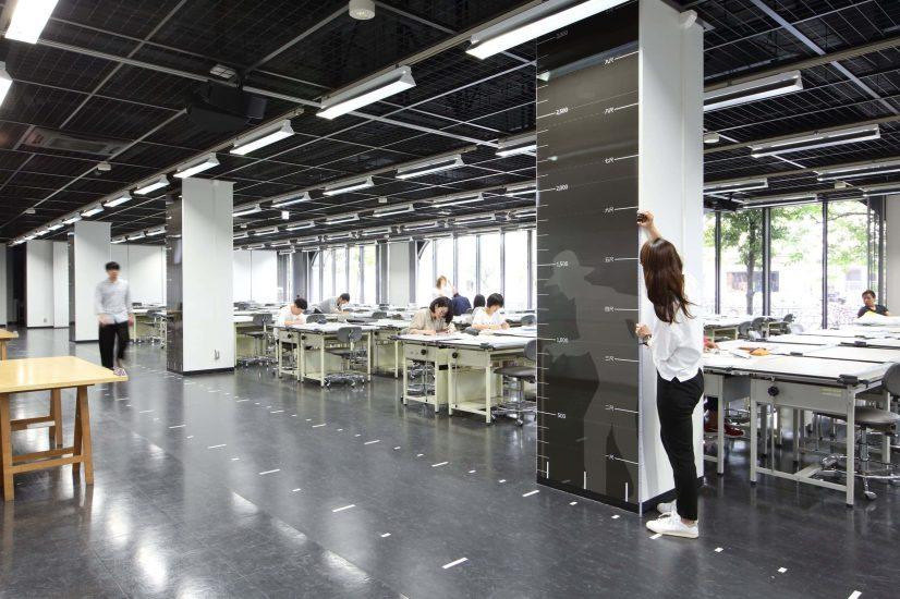 大阪工業大学大宮キャンパス2号館(建築学科)